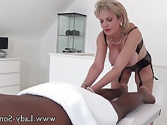 Big Boobs, Handjob, Interracial, Massage, MILF