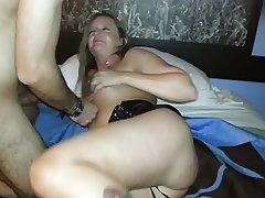 Big Cock, British, Small Tits, Fucking