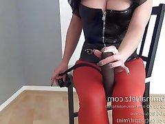 BDSM, Big Boobs, Pantyhose, Femdom