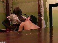 Teen, Amateur, Blowjob, Interracial