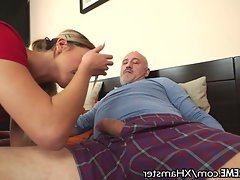 Blowjob, Cumshot, Teen, Old and Young