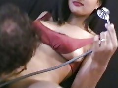 Interracial, Asian, Blowjob, Brunette
