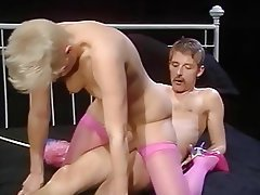Cumshot, German, Hairy, MILF, Stockings