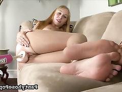 Babe, Big Cock, Panties, Teen, Toys