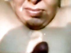 Cumshot, Facial, Indian, Mature