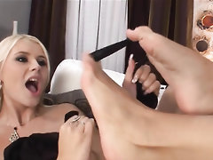 Babe, Blowjob, Feet, Fetish