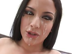 Blowjob, Cumshot, Facial, POV, Tattoo