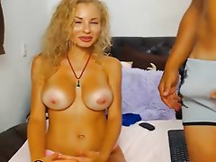 Blowjob, Cuckold, Cumshot, Webcam
