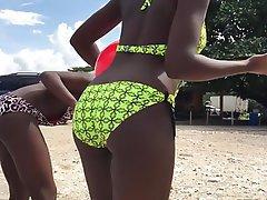 Amateur, Babe, Beach, Big Butts